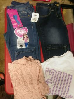 Super Adorable New Lot of 4 Justice and YMI Teen Girl Clothe