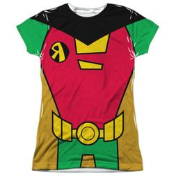 Teen Titans Go! Robin Uniform Costume All Over Sublimation J