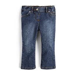 The Children's Place Baby Girls' Victory Blue Bootcut Jean,