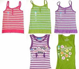 The Children's Place New Purple Pink Green Striped Tank Top