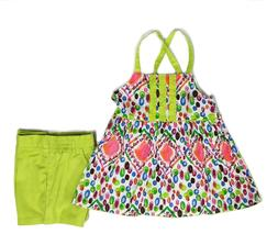 Toddler Girls Top Clothes Outfit Set Elastic Shorts Summer T