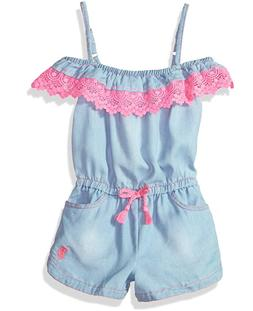 U.S. Polo Assn. Girls' Romper