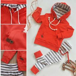 US Newborn Kids Baby Boy Girl Outfits Clothes Romper Jumpsui