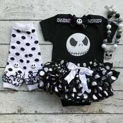 US Seller Newborn Infant Baby Girl Halloween Romper Clothes
